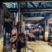 | Majestueux 👑  . Nouvelle place pour notre alambic, sous la charpente d'origine, avec vue sur les pièces du chai. Fin prêt pour être allumé demain matin! 🔥 . New place for our still, with an open view on the fantastic attic and on the cellar full of barrels ! It is ready to be light on tomorrow morning! 🙏🏻 • #alambic #distillation #2020 #armagnacisback #armagnac #laballe #vintage #feu #bois #blanche #baco #ugniblanc #folleblanche